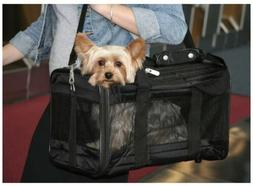 Sherpa Original Deluxe Small Pet Carrier Black Cat/Dog Trave