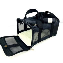 Sherpa Original Small Pet Carrier Bag Black Travel Tote 8 po