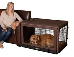 "Pet Gear PG5942BCH ""The Other Door"" 4 Door Steel Crate w"