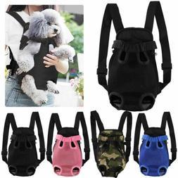 Pet Carrier Backpack Adjustable Pet Front Cat Dog Carrier Fa