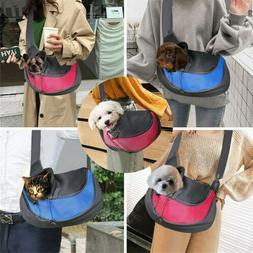 Outdoor Travel Pet Dog Puppy Cat Carrier Bag Sling Adjustabl