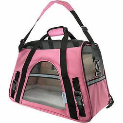Paws & Pals Pink Pet Carrier