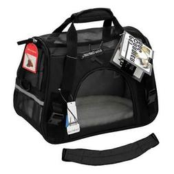 Paws & Pals PTCR01-LG-BK Comfortable Carrier Soft-Sided Pet