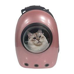 ALEKO PC09RS Pet Backpack Astronaut Capsule Bubble Window Ha