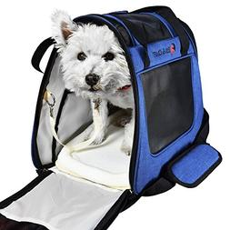 Ess and Craft Pet Carrier 2 Tone Blue Airline Approved | Sid