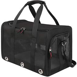 Pet Carrier Airline Approved, Soft-Sided Pet Travel Bag, Pet