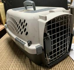 Pet Carrier Animal Kennel Hard Plastic Carrier Tote  Small D