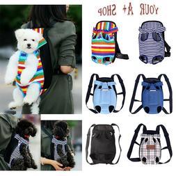 Pet Carrier Backpack Adjustable Cat Dog Pet Front Carrier Le