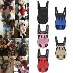 Pet Carrier Backpack Adjustable Front Cat Dog Legs Tail Out