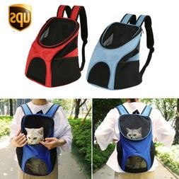 Pet Carrier Backpack Adjustable Pet Front/Back Cat Dog Carri