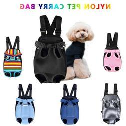 Pet Carrier Backpack Adjustable Pet Front Cat Dog Carrier Tr