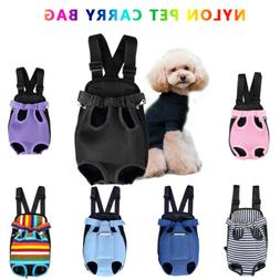 Pet Carrier Backpack Adjustable Pet Front Cat Dog Carrier Tr