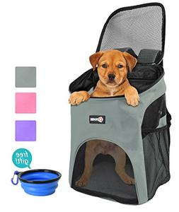 Pet Carrier Backpack for Small Dogs Cat Rabbit, Breathable M