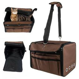 Pet Carrier Travel Bag Small Dogs Cats Airline Approved Anim