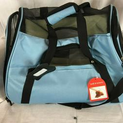 Pet Carrier Bag, mineral blue, Oxgord airline compliant, NWT