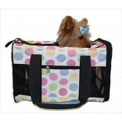 Pet Carrier Dog Cat Travel Bag Airline Approved Multi Color