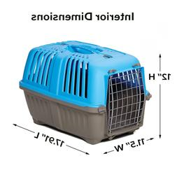 Pet Carrier: Hard-Sided Dog Carrier, Cat, Small Animal in Bl