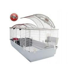 Pet Carrier Large Metal Wire Frame Indoor Rabbits Guinea Pig