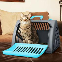 Foldable Travel Cat Carrier Front Door Collapsible Pet Carri