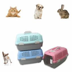 Pet Carrier Portable Dog Kennel Cat Crate Travel Small Light