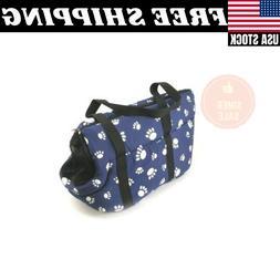 Pet Travel Carrier Shoulder Bag Tote Purse Pouch Cat Dog Sof