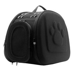 Pet Carrier Small Dog Cat Folding Portable Breathable Hardsh