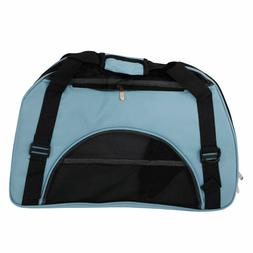 Pet Carrier Soft Sided Bag Large Cat Dog Comfort Handbag Fab