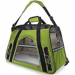 """OxGord Pet Carrier Soft Sided Cat / Dog Comfort """"FAA Airline"""