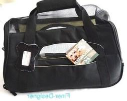 OxGord Pet Carrier Soft Sided Cat Dog Comfort Travel Tote Ba
