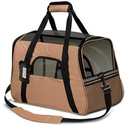 pet carrier soft sided cat dog comfort