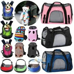Pet Carrier Soft Sided Large Cat/Dog Comfort Travel Bag Oxfo
