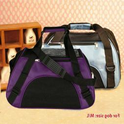 Pet Carrier Soft Sided Large Cat / Dog Comfort Travel Bag Ai