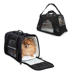 Pet Carrier Soft Sided Small Cat Dog Puppy Comfort Bag Trave