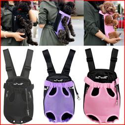 Pet Cat Dog Carrier Front Pack Puppy Travel Bag Hiking Backp