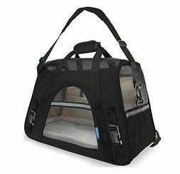 Pet Cat Dog Soft Mesh Carrier Bag OxGord Travel Airline Safe