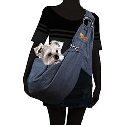 Alfie Pet - Chico 2.0 Revisible Pet Sling Carrier with Adjus