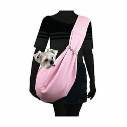 Alfie Pet - Chico Reversible Pet Sling Carrier Pink