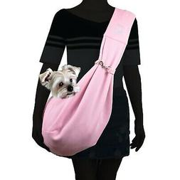 Alfie Pet - Chico Reversible Pet Sling Carrier Pink