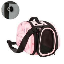 Pet Dog Carrier Handbag Folding Light Travel Bag For Small A