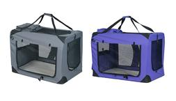 Pet Dog Carrier Travel Tote Cat Puppy Crate Large Collapsabl