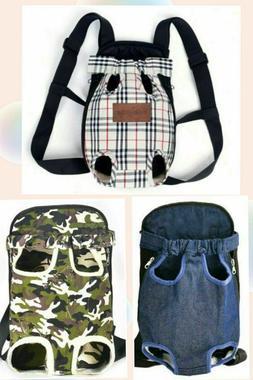 Pet Dog Cat Carrier Travel Tote Front Bag Sling Backpack Car