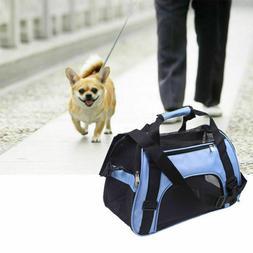 Pet Dog Cat Rabbit Portable Travel Carrier Tote Cage Bag Cra
