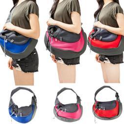 Pet Dog Puppy Carrier Travel Tote Shoulder Bag Sling Backpac