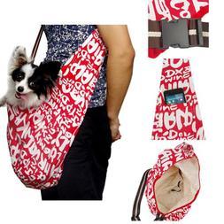Generic Pet Dog Sling Carrier Bag Single Shoulder Bag Oxford