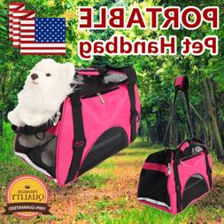 Pet Handbag Carrier Comfort Pet Dog Travel Carry Bag For Sma