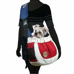 Alfie Pet - Hayden Pet Sling Carrier - Color Red White & Blu