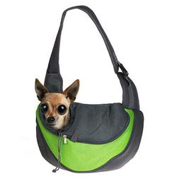 Pet Puppy Carrier Dog Handbag Pouch Mesh Single Shoulder Bag