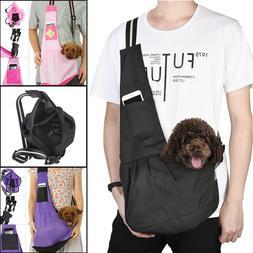 Pet Sling Carrier Dog Cat Tote Single Shoulder Bag Carriers