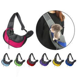 Pet Shoulder Bag Pouch Travel Dog Puppy Cat Carrier Bag Adju
