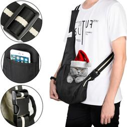 Pet Sling Carrier Bag Tote Carry Strap Dog Cat Puppy Pouch T